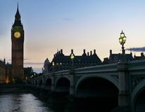 The Big Ben of London royalty free stock photo