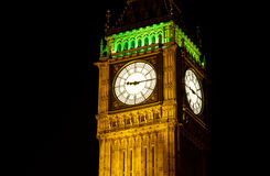 Big Ben, London at night Stock Photo