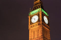 Big Ben, London. Big Ben at night. London Royalty Free Stock Images