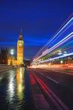 Big Ben London at night Royalty Free Stock Photos