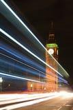 Big Ben London at night Stock Photography