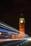 Big Ben London at night Royalty Free Stock Images