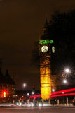 Big Ben, London - Night scene Stock Images