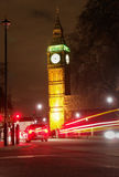 Big Ben, London - Night scene Royalty Free Stock Photos