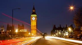 Big Ben, London Night View Stock Photos
