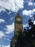 Big Ben in London. Summer afternoon Stock Photos