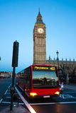 The Big Ben, London, UK. Royalty Free Stock Photos