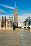 The Big Ben, London, UK. Royalty Free Stock Photography