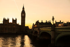 The Big Ben,  London, UK. Stock Images