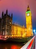The Big Ben,  London, UK. Royalty Free Stock Image