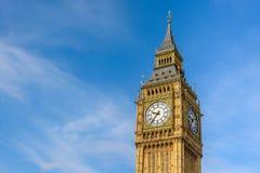 Big Ben, London, UK. Close up Big Ben Clock Tower, London, England, UK Stock Image