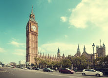 Big Ben in London, UK Royalty Free Stock Image