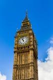 Big Ben, London, UK. A view of the popular London landmark, the Royalty Free Stock Photo