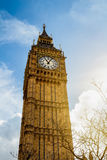 Big Ben, London, UK. A view of the popular London landmark, the Royalty Free Stock Image