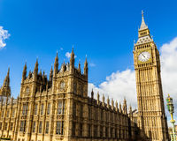 Big Ben, London, UK. A view of the popular London landmark, the Royalty Free Stock Photos