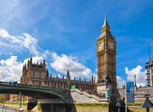 Big Ben, London, United Kingdom Royalty Free Stock Image