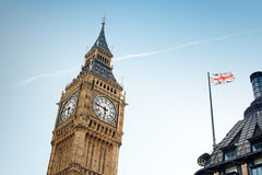 The Big Ben. In London, United Kingdom Stock Photography