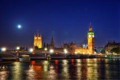Big Ben London United Kingdom. Taken in 2011 taken in HDR Stock Photography