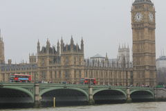 Big Ben in London, the United Kingdom Royalty Free Stock Image