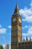 Big Ben in London, Vereinigtes Königreich Lizenzfreies Stockfoto