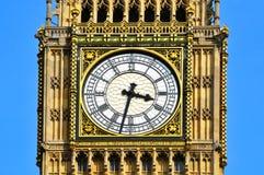 Big Ben in London, Vereinigtes Königreich stockfotos
