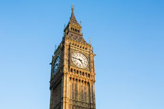Big Ben of London. Westminster square Royalty Free Stock Photos