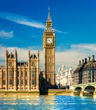 Big Ben, Londres, R-U. image libre de droits