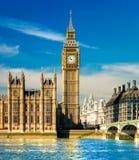 Big Ben, Londres, Reino Unido. Imagen de archivo libre de regalías