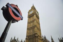 Big Ben, Londyński Anglia Zdjęcia Stock