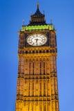 Big Ben Londyn przy półmrokiem zdjęcie stock