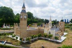 Big Ben-miniatuur Royalty-vrije Stock Foto's