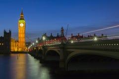 Big Ben na obscuridade. Fotografia de Stock Royalty Free