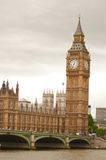 Big Ben am Nachmittag Stockbild