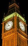 Big Ben nachts 1 Stockbild