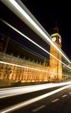 Big Ben nachts Lizenzfreie Stockbilder