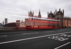 Big Ben nachts Lizenzfreies Stockbild