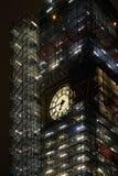 Big Ben naprawa w Londyn fotografia stock