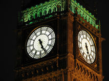 Big ben by night Royalty Free Stock Images