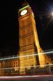 Big ben by night Royalty Free Stock Photos