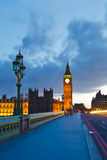 Big Ben at night. London, UK Royalty Free Stock Images