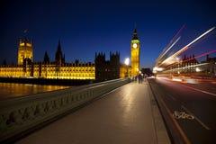 Big ben at night. Stunning image of Big Ben at night Royalty Free Stock Photography