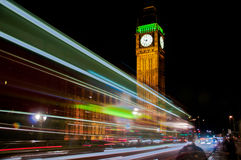 Big Ben at night Royalty Free Stock Photos