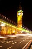 Big Ben at night. Big Ben and houses of parliament at night Royalty Free Stock Image