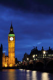 Big Ben at night Stock Photo