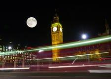 The Big Ben at night. In London UK Stock Photo