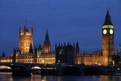 Big Ben at night royalty free stock images