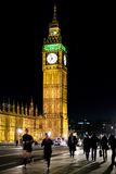 Big Ben Night Stock Photography