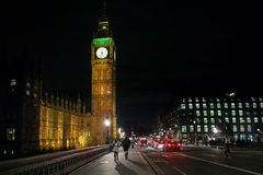 Big Ben Night Royalty Free Stock Photo