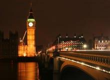 Big Ben at Night stock photography