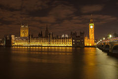 Big Ben. In the night Stock Photo